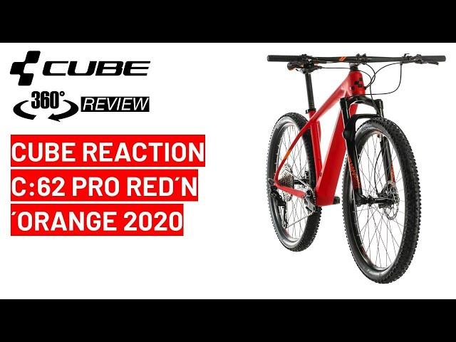 Видео Велосипед Cube Reaction C:62 Pro carbon´n´blue