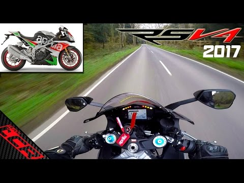2017 Aprilia RSV4 RF   Ride Review (OMG)