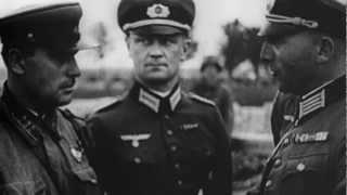 1939 Польша Брест Советская армия и Германская армия