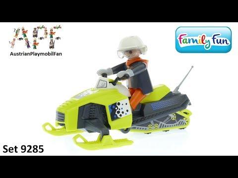 Vidéo PLAYMOBIL Family Fun 9285 : Motoneige