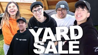 MOVING DAY & OUR FAMILY YARD SALE
