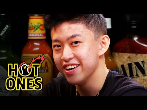 Rich Brian Experiences Peak Bromance While Eating Spicy Wings | Hot Ones