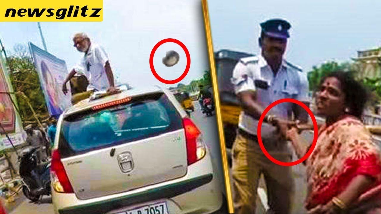 டிராபிக் ராமசாமி மீது தாக்குதல் :: Traffic Ramaswamy attacked for protesting against ADMK