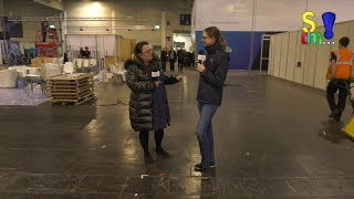 SPIEL 2019 - Rundgang mit der Messeleitung - Blick hinter die Kulissen - Aufbau - Spiel doch mal...!