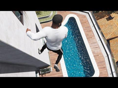GTA 5 Parkour Fails Episode 2