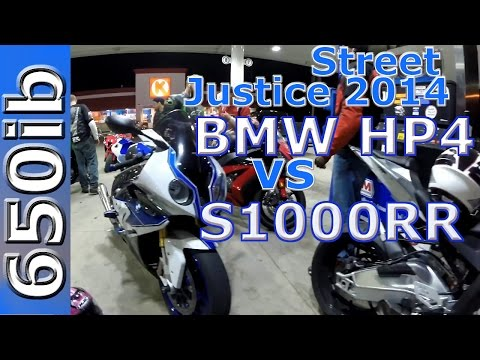 BMW HP4 vs S1000RR: Street JUSTICE 2014!