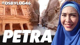 PETRA, JORDAN! Gunung Batu Ini Dipahat Menggunakan Tangan Manusia   #OSDVLOG46