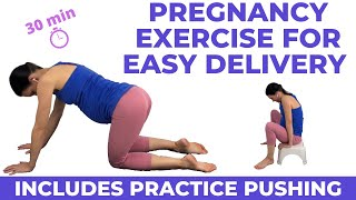 Pregnancy Exercise For Easy Delivery