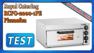 Royal Catering RCPO-2000-1PE Pizzaofen
