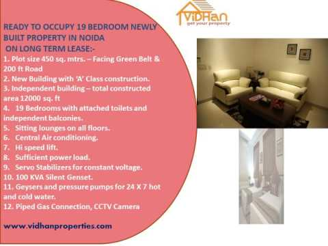 19 ROOM FULLY FURNISHED PROPERTY IN NOIDA