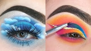 COLORFUL EYESHADOW TUTORIALS FOR MAKEUP LOVERS