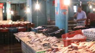 preview picture of video 'Bizerte - Le vieux port et le marché aux poissons'