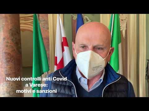 Nuovi controlli antiCovid a Varese: motivi e sanzioni