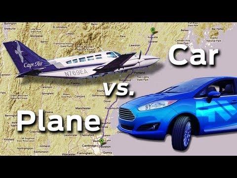 PLANE vs. CAR! -- Fast & Furious Race!