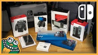 10 MORE Nintendo Switch Accessories - Part 2 - List and Review + Mumba Case Giveaway