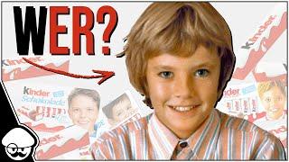 Wer ist der Junge auf der Kinder Schokolade?