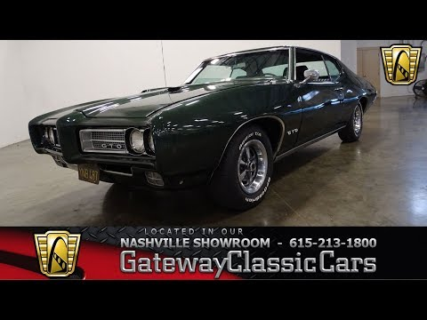 Video of '69 GTO Offered by Gateway Classic Cars - Nashville - OGZL