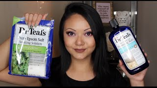 Dr.Teals Foaming Bath Review | Top Two Tuesday
