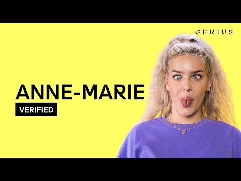 """Anne-Marie """"2002"""" Official Lyrics & Meaning   Verified"""