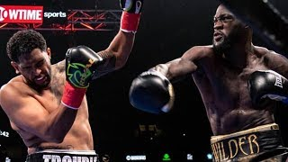 Deontay Wilder 1 PUNCH KNOCKOUT! Vs Dominic Breazeale