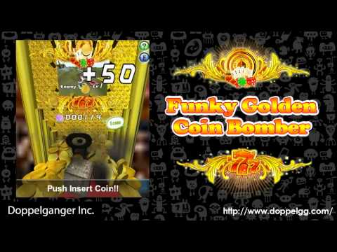 Video of Funky Golden Coin Bomber