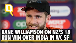 Kane Williamson on New Zealand's Victory Over India in 2019 World Cup Semi-final| The Quint