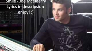Smile - Joe Mcelderry. Lyrics in description