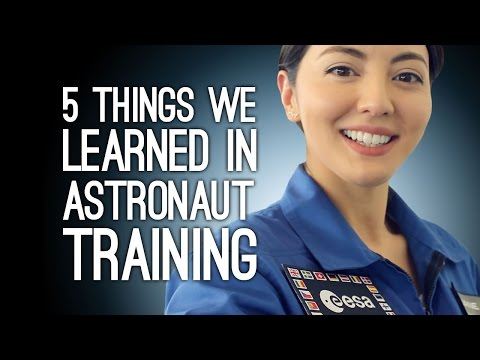 Så tränas Esas astronauter