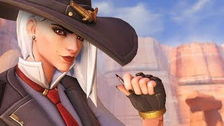 ASHE IS IN OVERWATCH!!! Overwatch Funny & Epic Moments 654