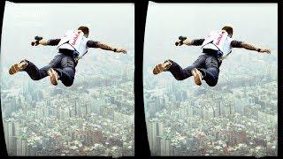 3D  BASE Jumping - VR Virtual Reality Vídeo Google Cardboard VR Box