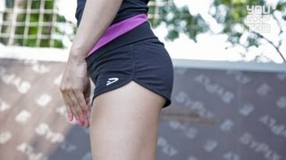 Смотреть онлайн Кроссфит девушка для начинающих, упражнения