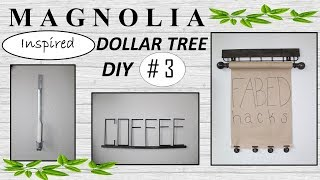 MAGNOLIA Inspired | Dollar Tree DIY | Farmhouse