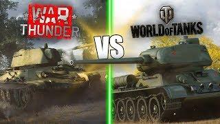 War Thunder vs World of Tanks    Which Game Is BETTER?