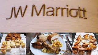 【十大我最喜愛酒店自助餐】 香港 JW 萬豪酒店 「The Lounge」 下午茶自助餐