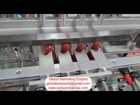 Automatic Paste Filling Machine / Hand Sanitizer Filling Machine