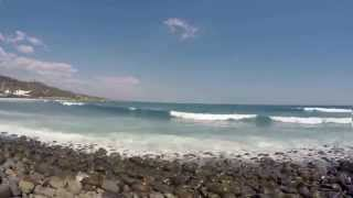 preview picture of video 'Playa la Paz, Puerto de La Libertad.'