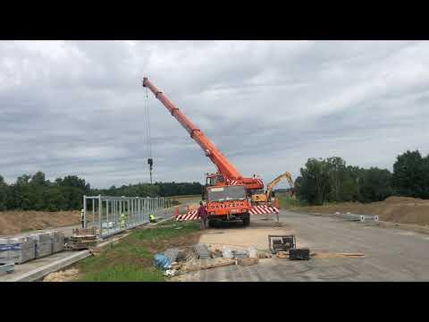 Budowa drogi ekspresowej S19 (obw. m. Kraśnik) - tydzień 01 - sierpień 2021