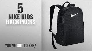ba818b0c87 Top 10 Nike Kids Backpacks  2018 Best Sellers   NIKE BRASILIA KIDS  BACKPACK