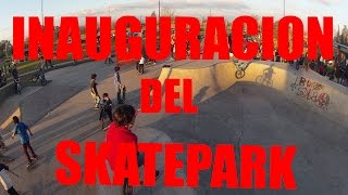 preview picture of video 'Inauguración Del Skatepark De Lincoln [BsAs]'