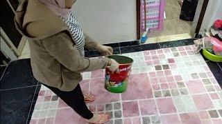 اختي جات واستغلاتها اخر استغلال 😂 وغسلنا السجاد قبل الولادة