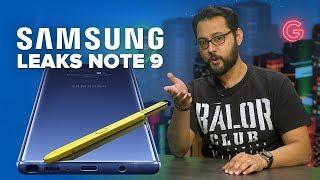 Samsung leaks Note 9 again (Alphabet City)
