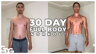 Full Body Workout For 30 Days QUARANTINED
