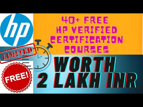 Free HP Online Training Courses   Get Verified ... - YouTube