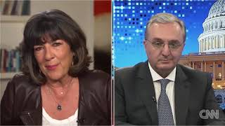 "The interview of Armenian FM Zohrab Mnatsakanyan to CNN program ""Amanpour"""