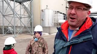 Our Tour of a Corn Ethanol Plant!