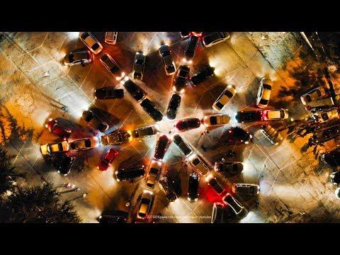 СНЕЖИНКА из машин в Ялте к Старому Новому году 2019. Авто флешмоб.