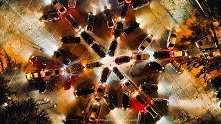 Крымчане развлекаются! СНЕЖИНКА-ГИГАНТ к Старому Новому году. Авто флешмоб. Ялта 2019. Крым сегодня
