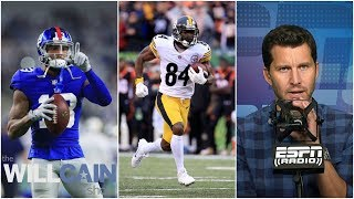 Top 10 NFL wide receivers from Will Cain | The Will Cain Show