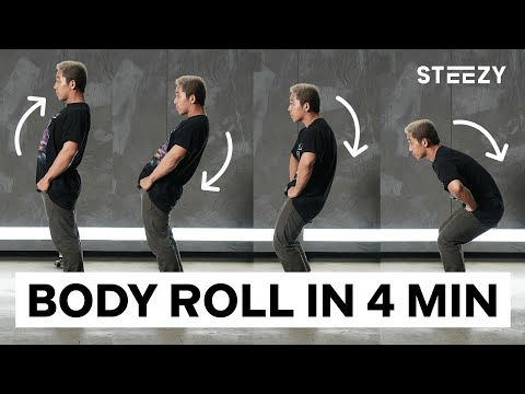 Learn How To Body Roll in 4 Minutes | STEEZY.CO