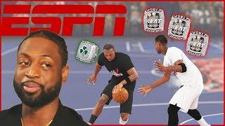 We Settle The Debate! Who's Better Dwayne Wade Or Paul Pierce?! - NBA 2K19 Blacktop Gameplay